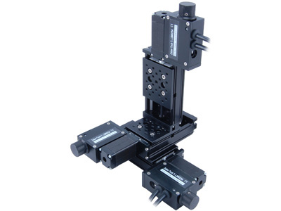 Motorized Xyz Stage 3x T Lsm050a 50 Mm Travel Per Axis